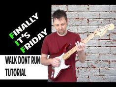 Walk Don't Run - Hank Marvin & The Shadows/The Ventures Tutorial Free Online Guitar Lessons, Hank Marvin, Electric Guitar Lessons, The Ventures, Guitar Youtube, Stratocaster Guitar, G Major, Guitar Tutorial, Rock Songs