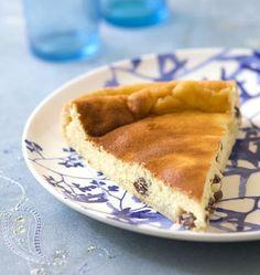 Vatrouchka, tarte russe au fromage blanc et aux raisins secs - Recettes de cuisine Ôdélices
