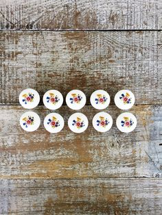 Drawer Knobs 10 Drawer Pulls Flower Knobs Ceramic Drawer Pulls Dresser Drawer Knobs Cabinet Door Pulls Cottage Chic Pulls Home Improvement by TheDustyOldShack on Etsy