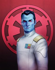 Some fan art of Grand Admiral Thrawn. Only the greatest non-Force user of all Star Wars Based on all the official art I could find and. Star Wars Books, Star Wars Characters, Grande Almirante Thrawn, Thrawn Star Wars, Grand Admiral Thrawn, Star Wars Canon, Star Wars Images, Star Wars Rebels, Sw Rebels