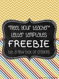 1000 images about back2school meet the teacher on for Free meet the teacher template