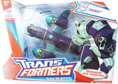 Tranformers Voyager Animated Class Lugnut Figure
