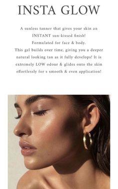 No mitt needed! Beauty Tips For Skin, Beauty Secrets, Beauty Skin, Health And Beauty, Lip Plumping Balm, Business Photos, Business Ideas, Hair Flip, Tan Skin