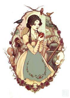 Old fashion Snow White