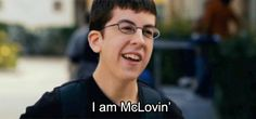 My son just saw the movie and is calling him self McLovin. I do not think he got all the movie. Best Movie Quotes, Tv Show Quotes, Mclovin Superbad, Movies Showing, Movies And Tv Shows, Movie Collage, Boys Are Stupid, Funny Films, Cartoon Pics