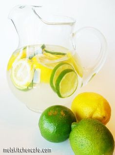 INGREDIENTS:  2 tablespoons citric acid (you can find this at most pharmacies or natural food stores)  5 quarts water  2 cups sugar  2 tablespoons pure lemon extract  3 sliced lemons  3 sliced limes  Crushed ice  DIRECTIONS:  In a large pitcher or punch bowl, stir water, sugar, citric acid, and lemon extract together. Add sliced fruit and ice.  Recipe Source: from The Sister's Cafe