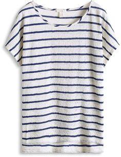 Pin for Later: Dieses klassische Basic-Top gefällt sogar den Bloggern  ESPRIT Jacquard T-Shirt mit Streifen (26 €)