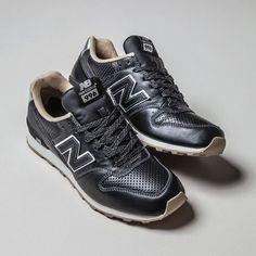 New Balance 996 Black Leather