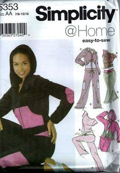 Simplicity 5867  Home Misses Knit Pants Two by DawnsDesignBoutique, $8.00