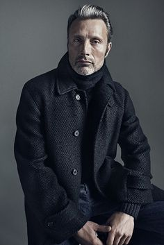 Mads Mikkelsen by Henrik Bülow for Alexa Magazine/New York Post Cover Story