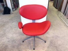 sièges simili GRIFFINE rouge & jaune
