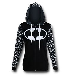 NEED TO ADD THIS TO MY COLLECTION Batman Reversible Women's Hoodie