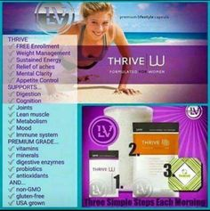 Who is Thrive for?? It's for EVERY BODY!!! It gives the body what it needs from a nutritional standpoint. It is not goal specific... meaning it helps in EVERY aspect! I have 3 day Men and Women sample packs ready to be mailed!!  MDempsey76.le-vel.com  #highestbioavailibility #premiumgradenutrition #FillYourNutritionalGaps
