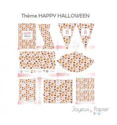 kit imprimer dcoration de fte thme happy halloween fates une jolie sweet table