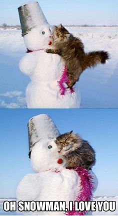 Oh Snowman…