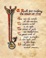 A Spell For Invoking The Power Of Three by Charmed-BOS