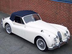 1956 Jaguar XK 140 MC DHC