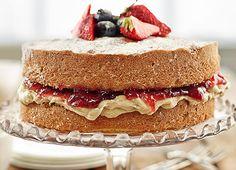 Classic Victoria Sponge Cake - Billington's