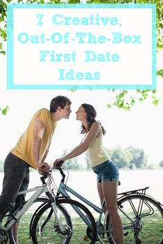 7 Creative, Out-of-the-Box First Date Ideas -  There's nothing wrong with meeting for drinks on a first date, but doing something totally unexpected can make the experience that much more sexy, according to Chiara Atik, resident expert at dating site HowAboutWe.com and author of the upcoming book Modern Dating: A Field Guide. She shares seven first date ideas that are anything but boring.
