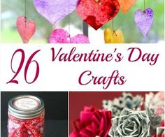 Valentine's Day is such a fun holiday for kids. I remember making Valentine's crafts when I was in school. I've got 26 kids crafts that will be fun to make with your little ones. You could also use these for a class party. Add some Valentine's Desserts or cupcakes and you are ready to celebrate!