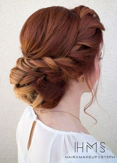 Wedding Hairstyles, Hair Updos, Bridal Hairstyles, Bridal Beauty || Colin Cowie Weddings