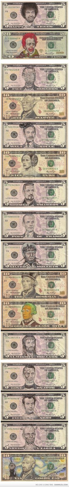 Awesome Currency Art