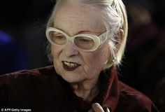 At least she didn't make a spectacle of herself! Vivienne was bespectacled as she chatted ...