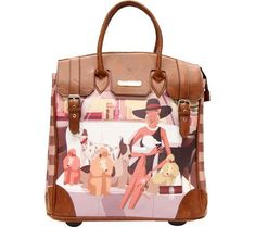 5c34343ada08 Fiona Rolling Business Tote Special Print Edition