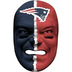 Franklin Sports 6991F24 NFL New England Patriots Fan Face Mask