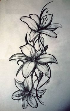 Lily Flower Drawing for Wood Burning Lily Flower Drawing for Wood Burning. Lily Flower Drawing for Wood Burning. Pin by Kathleen Scallan Yantis On Wood Burning in lily flower drawing Pin by Kathleen Scallan Yantis on wood burning Lilly Flower Tattoo, Lillies Tattoo, Vintage Flower Tattoo, Small Flower Tattoos, Flower Tattoo Shoulder, Girly Tattoos, Body Art Tattoos, Small Tattoos, Small Lily Tattoo