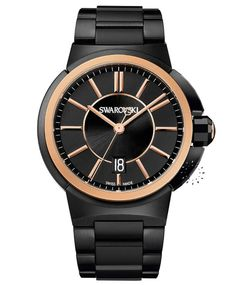 SWAROVSKI Piazza Grande Rose Gold Stainless Steel Τιμή: 749ε http://www.oroloi.gr/product_info.php?products_id=34173