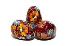 Easter wooden egg  Easter pysanky  Easter decoration