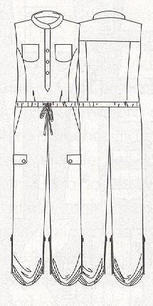 Schnittmuster Jumpsuit - Free Jumpsuit Pattern