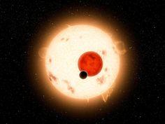 (Foto: NASA/JPL-Caltech - PIA14724: Where the Sun Sets Twice (Artist Concept))