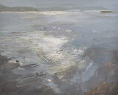 Ruth Stage, 'Wave Patterns', egg tempera on board, 24x30 inch