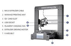 Wanhao Duplicator i3 Plus - 3D printers NZ - 3D modeling services | 3Design