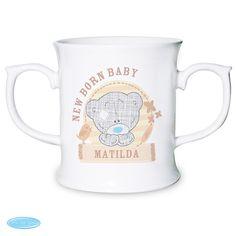 Celebrate a newborn with a personalised loving mug