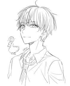 Boy Drawing, Cartoon Girl Drawing, Drawing Base, Dark Art Drawings, Anime Drawings Sketches, Cute Drawings, Manga Art, Anime Art, Base Anime