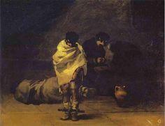 Francisco De Goya - Prisión Escena