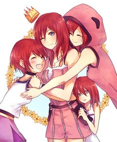 "seraphily: "" ""some kairi appreciation for ☆ "" """