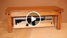 Secret Compartment Furniture to Hide Your Gun at Home