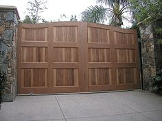 The Dorland Company Traditional Wooden Gates https://www.pinterest.com/avivbeber3/wood-garage-doors-and-gates/