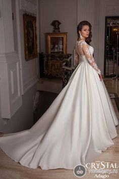 Find More Wedding Dresses Information about New Arrival Beading A Line Wedding Dress Floor Length Long Sleeve Robe De Mariage Vestido de noiva Bridal Gowns ,High Quality Wedding Dresses from Romantic bride wedding dress Suzhou Co., Ltd. on Aliexpress.com