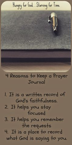 Would you like to be more efficient in prayer, leave a legacy for your children, and impact the world? The key might just be in a little tool called a prayer journal. Check out this 5-minute devotion.
