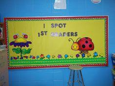 Ladybug Classroom Decoration Ideas : Ladybug classroom theme bulletin board borders ladybug classroom
