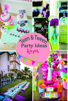 Hundreds Of Teen Tween Party Ideas At Karas See Them All Here