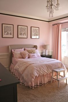 a big girl room in pink | Simply P.Chee