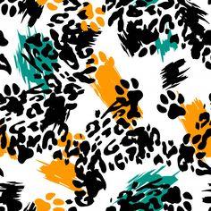 Pattern Art, Pattern Design, Vector Pattern, Design Design, Free Pattern, Wallpaper Kawaii, Textures Patterns, Print Patterns, Animal Print Wallpaper