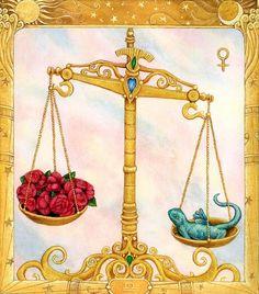 Libra, the sign of universal balance