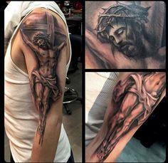 @jpmtattoos - Jesus on the Cross - Crucifix